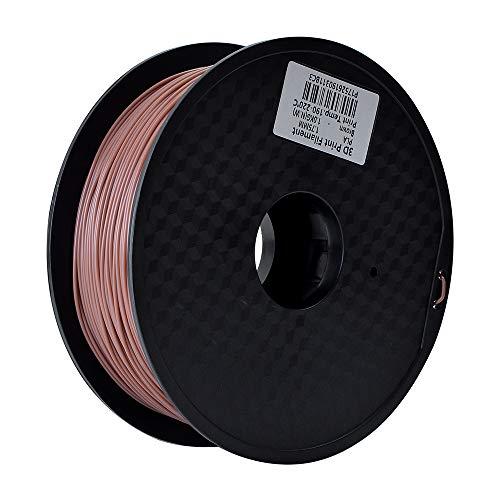 HUAFAST 3D Printer Filament PLA 1.75mm 1KG Spool Printing Materials Dimensional Accuracy +/- 0.02 mm for Most FDM Machine and 3D Pen (Brown)