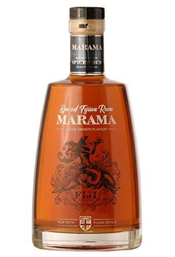 MARAMA Spiced Rum, Premium-Rum 40% vol., Ron von den Fidschi Inseln (1 x 0.7 l)
