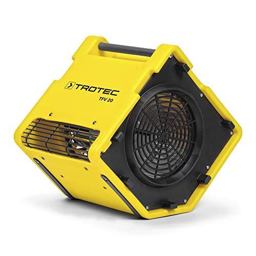 TROTEC Turbolüfter TFV 20 Ventilator Lüfter Radial Gebläse Trocknung Windmaschine