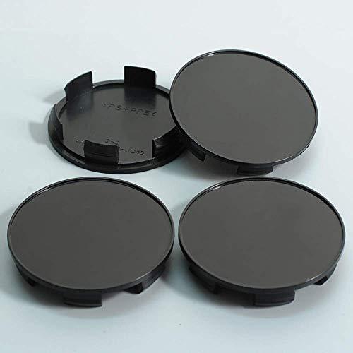 Tapa central de buje 4 piezas 70 mm Tapa plana para buje...