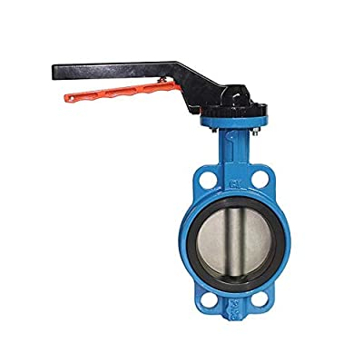 Fincos DN65 2.5 inch Manual Butterfly Valve Casting Body with SS304 Disc and EPDM Sealing - (Specification: DN65) from Fincos