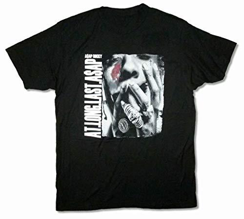 A$AP Rocky at Long Last Black T Shirt New Mob ASAP Articles Merch