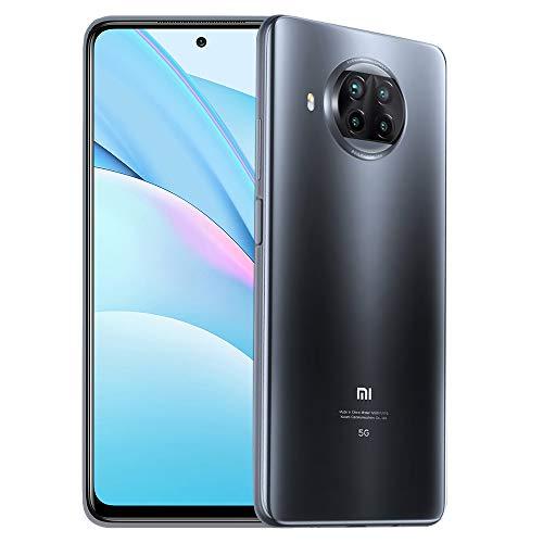 Xiaomi MI 10T Lite 5G 6GB 128GB Smartphone Qualcomm Snapdragon 750G Octa-Core 64MP Quad Cámara Trasera 2.5D DotDisplay (Gray)