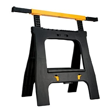 Performance Tool W54036 Adjustable Height Sawhorse (660 lb. capacity)