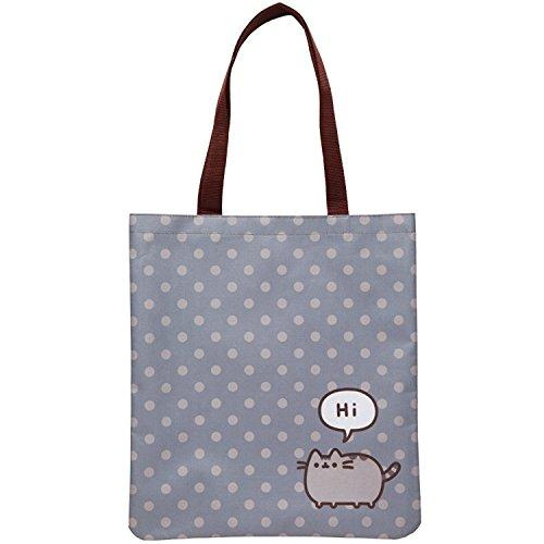 Pusheen the Cat Polka Dot'Hi' Tote Bag