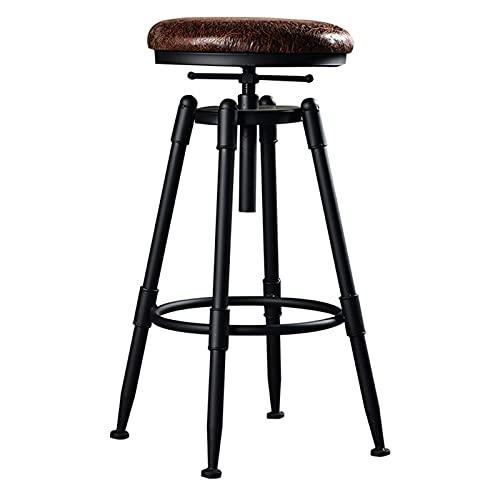 QLIGAH Semitable Moderno Art Bar sgabelli 70-90 cm a 360 ° Rotazione Barra caffè caffè Sedia da Cucina Balcone Cucina comptoir barcaumes