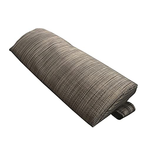 humorous Almohada universal para el cuello, reposacabezas con banda elástica, cojín portátil de apoyo lumbar para silla de oficina, asiento de coche, cojín de apoyo extraíble para sillón reclinable