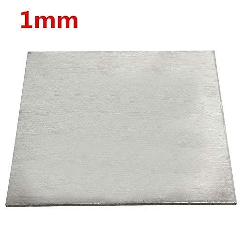 Titanlegierung, TC4/GR5, Titanplatte, 1 x 100 x 100 mm