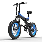ZS ZHISHANG 20 Inch Folding Electric Bike for Adults 1000w Removable Battery Pack Aluminum Alloy Lightweight High Speed Motor City Bike for Adult, MAX Load 200kg