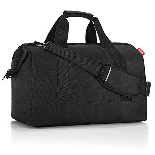 reisenthel allrounder L MT7003 in black – Reisetasche mit 30l Volumen – Hochwertig und bequem – B 48 x H 39,5 x T 29 cm