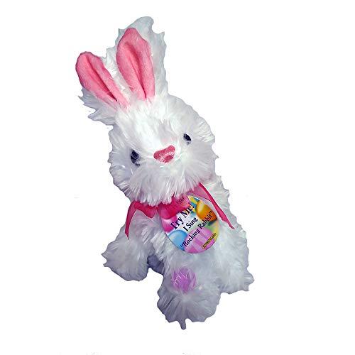 Plush Animated Dancing Bunny Rabbit Stuffed Animal - Sings Rockin Rabbit