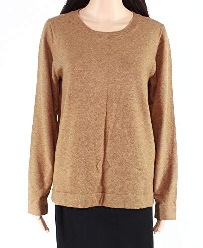 J.Crew Mercantile Women's Crewneck Sweater, Heather Camel, XXS