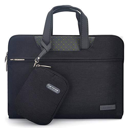 Yhuisen Caja de protección de la Bolsa de protección del maletín de la computadora portátil Compatible con Huawei MateBook 16/D16 2021 /MagicBook Pro 16.1 (Color : Negro)