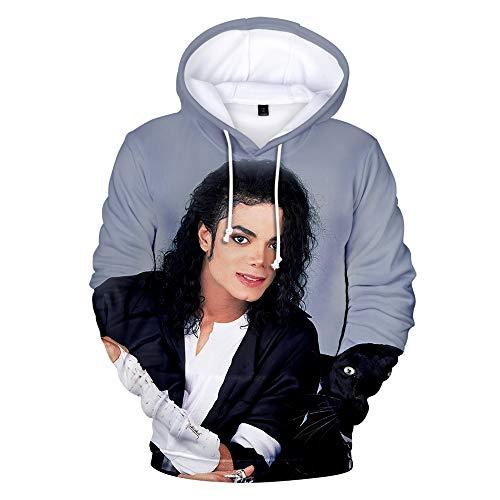 ULIIM 3D Hoodies Michael Jackson Sweatshirt Männer Frauen Langarm 3D Printing Sweatshirt Mit Kapuze Streetwear Hip Hop Tops
