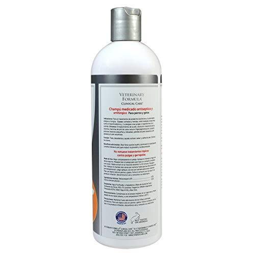 Veterinary Formula Antiseptic and Antifungal Medicated Shampoo 16 oz