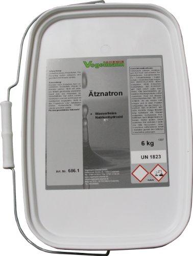 6 kg Ätznatron NaOH Natriumhydroxid kaustisches Soda