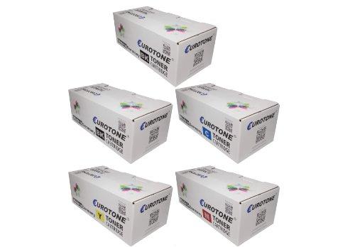 Eurotone Toner Kartuschen für Samsung ProXpress C2670FW /SEE und C2620DW /SEE ersetzten 2x CLT-K505L/ELS , 1x CLT-C505L/ELS , 1x CLT-Y505L/ELS , 1x CLT-M505L/ELS Patronen im er Spar Set - kompatible Premium Kit Alternative - non oem