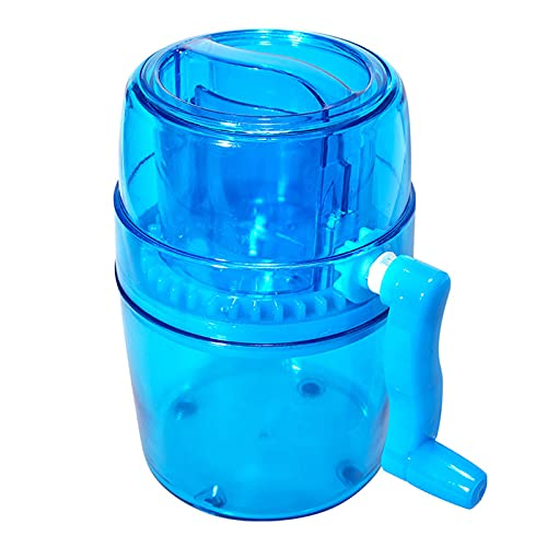 JMSB Manual Ice Cube Crusher,Household Mini Crushed Ice/smooth Machine, Does Not Take Up Space, Suitable for Making Delicious Smoothies/a Variety of Cold Drinks
