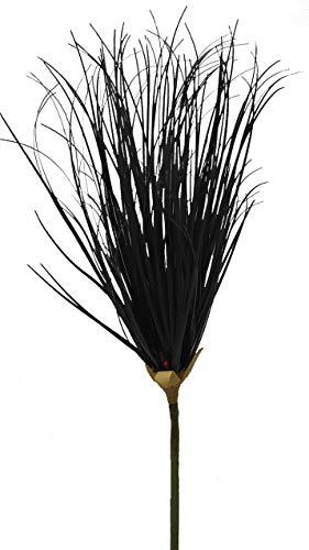 2474U Kunstzweig Lampenputzer schwarz ca. 102cm naturgetreu, Trockenzweig imitiert
