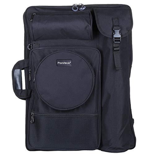 Welldeal Heavy Duty Art Portfolio Carry Case Bag Backpack