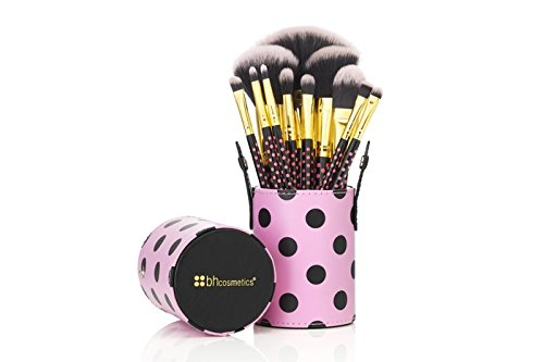 BH Cosmetics Pink-a-Dot Brush Set by BHCosmetics