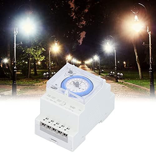 SALUTUY Temporizador mecánico, Aspecto Hermoso Temporizador mecánico Resistente, tamaño pequeño para Calentadores de Agua para alumbrado público