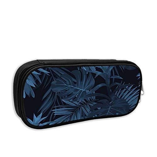 Modeschule Bleistiftetui Tropische Pflanzen Hawaiianische Monstera Sabal Palmblätter Guzmania Blumenmuster C Stifttasche Büro Schreibwaren Tasche für Schule & Bürobedarf