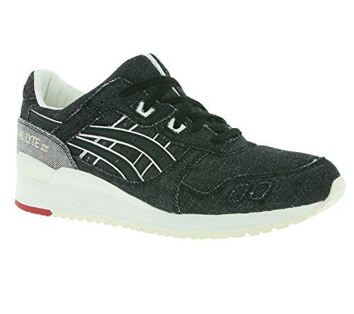 Asics - Gel Lyte III - Sneakers Herren - Black - US 12.5 - EUR 47 - CM 30