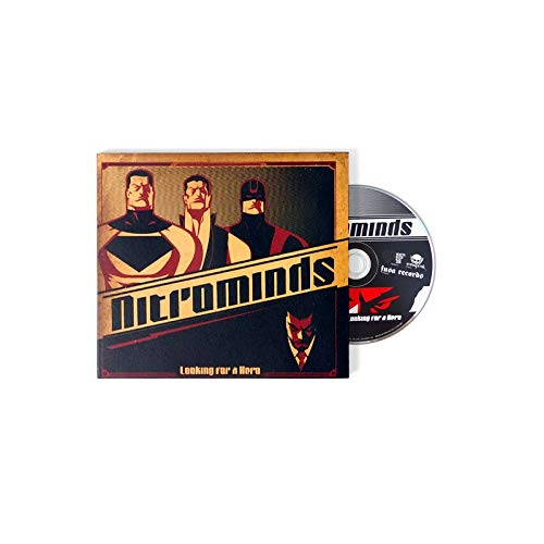 """Nitrominds """"Looking For A Hero"""" CD Digipack"""