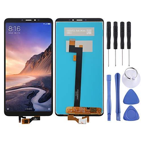 meihansiyun Accesorios de un teléfono Pantalla LCD y Montaje Completo de digitalizador para Xiaomi MI MAX 3 Accessory (Color : Black)