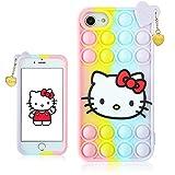 STSNano Bubble Kitty Cover Silicone Fidget per iPhone 6/6S/7/8/SE...