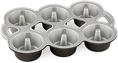 Nordic Ware Mini Angel Cakes Pan, One, Copper