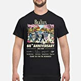 The Beatles Walking On Street 60th Anniversary 1960 2020 Signatures Thank You For The Memories Shirt, Short Sleeves Shirt, Hoodie, Sweatshirt For Mens Womens Ladies Kids 29M.