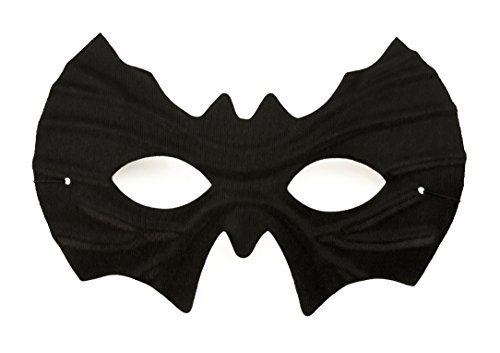 Oblique Unique® Fledermaus Maske in Schwarz