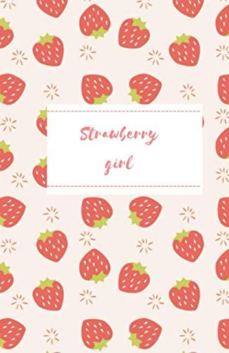 Strawberry Girl Notebook Cute strawberry journal product image