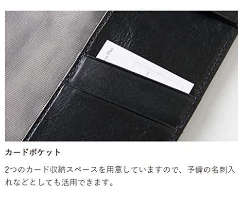 ノートカバー(B6)本革手帳カバーレザー革手帳カバーB6(ピーコックブルー)