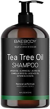 Baebody Tea Tree Oil Shampoo, 16 Ounces