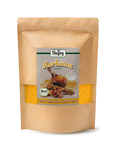 Biojoy Curcuma en poudre BÍO - produit à partir de racines séchées de curcuma bío (1 kg)