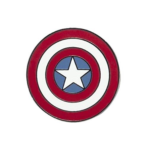 Echte Marvel Comics Captain America Schild Logo Abzeichen