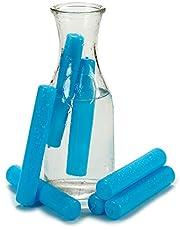 Bigbuy Home S3605197 Acumulador de Frío, Azul, 7 Piezas, 6.5 x 12 x 6.5 cm, Plástico