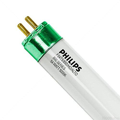 (Case of 40) F54T5 / 850 / HO / ALTO - 4 ft. - 54 Watt - T5 High Output - 5000K - Philips 135103