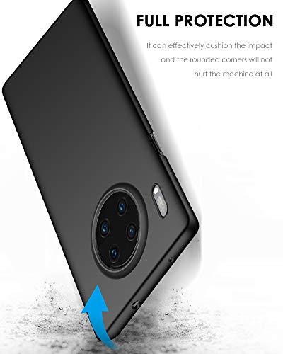 TOPACE Hülle für Huawei Mate 30 pro Ultradünne Leichte Matte Handyhülle Einfache Stoßfeste Kratzfeste Schutzhülle kompatibel mit Huawei Mate 30 pro (Schwarz) - 3
