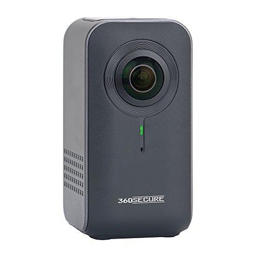 dnt 360SECURE 360 Grad Überwachungskamera für Zuhause Anthrazit Grau