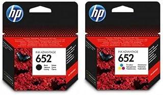 Hp Ink Cartridge 652 Black And 652 Tri Color Set