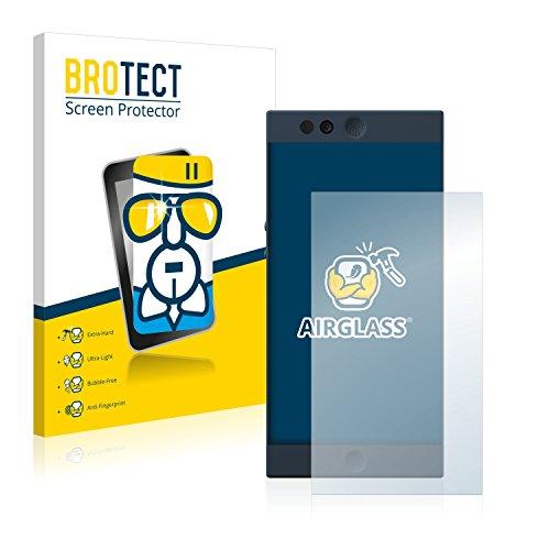 BROTECT Panzerglas Schutzfolie kompatibel mit Nextbit Robin - AirGlass, extrem Kratzfest, Anti-Fingerprint, Ultra-transparent