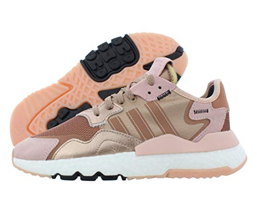 adidas Nite Jogger Womens in Rose Gold Metallic/Rose Gold