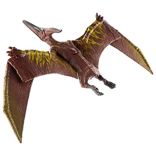 Jurassic World- Colpisci e Ruggisci Dinosauro Attacco Sonoro Pteranodonte, Giocattolo per Bambini 4+ Anni, Multicolore, GJN68