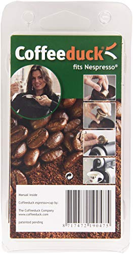 3 Capsules universelles rechargeables pour machines Nespresso