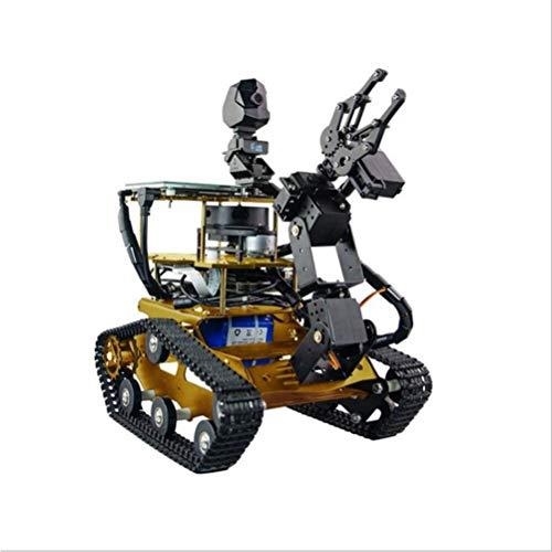 ZDSKSH DIY Raspberry Pi Roboter, 4 DOF Mechanischer Arm, Roboter Bausatz mit 1080P HD Kamera, Programmierbare Roboter Spielzeug, Baukasten elektronisches mit 7 Zoll Touchscreen