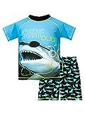Harry Bear Bañador de Dos Piezas para niño Tiburón Azul 11-12 Años